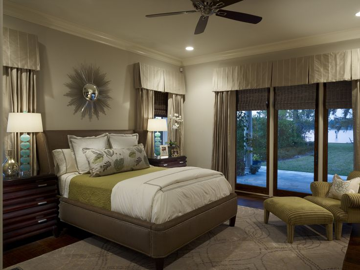 Neutral bedroom with pops of color | Bedrooms | Pinterest ...