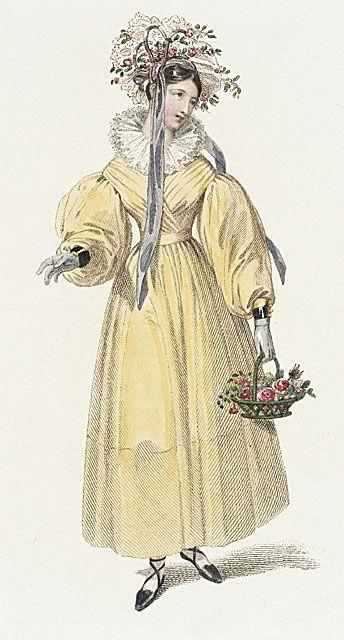 1829 morning dress