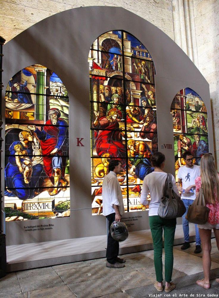 vidrieras de la Catedral Segovia