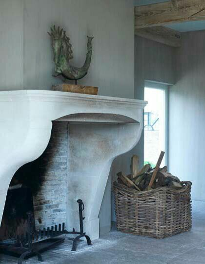 Let the fire roar. A great way to store your logs and display in a tasteful and rustic style. www.fieldandpheasant.co.uk