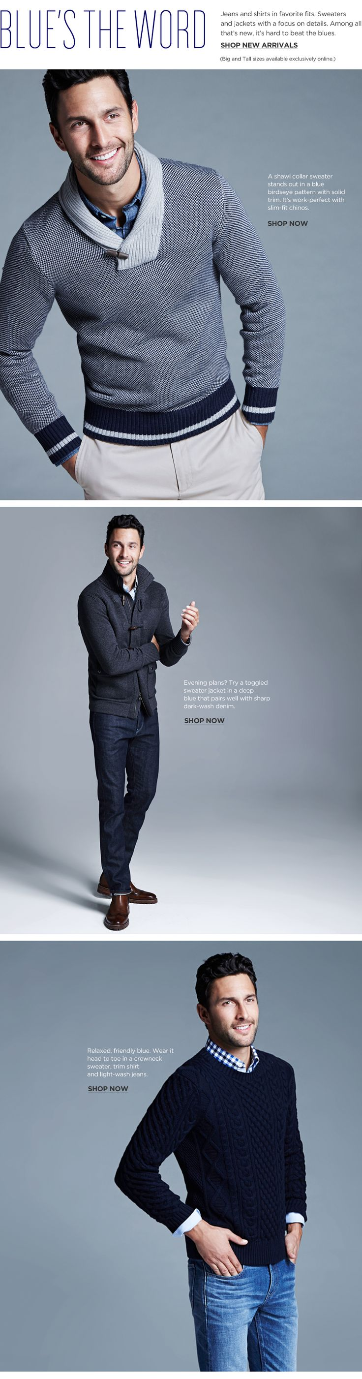Big and Tall Clothing: shirts, pants, polos, jeans, suits, blazers, outerwear in big and tall sizes   Banana Republic