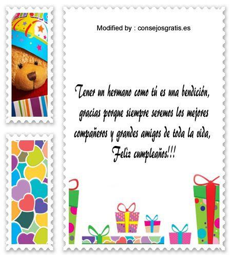 descargar mensajes bonitos de cumpleaños para mi hermano,mensajes de texto para cumpleaños para mi hermano,: http://www.consejosgratis.es/las-mejores-cartas-por-el-cumpleanos-de-mi-hermana/