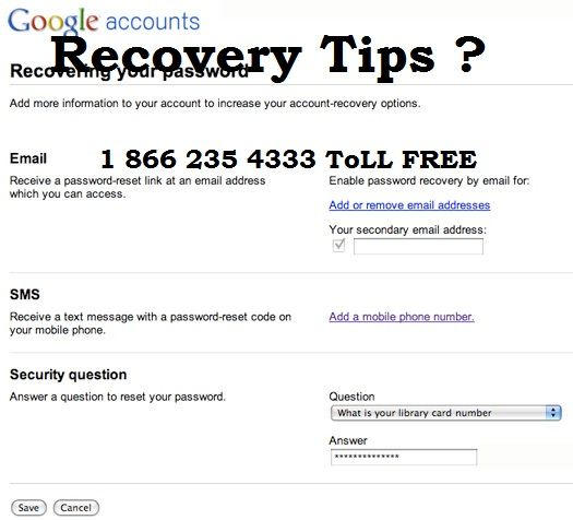 How to recover Gmail password without phone number and