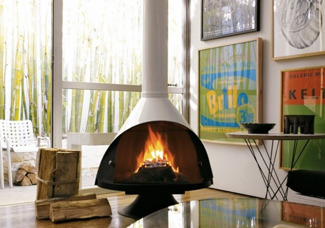 67 Best Images About Interior Mid Century Fireplaces On