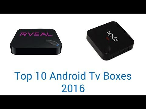 10 Best Android TV Boxes 2016 - YouTube