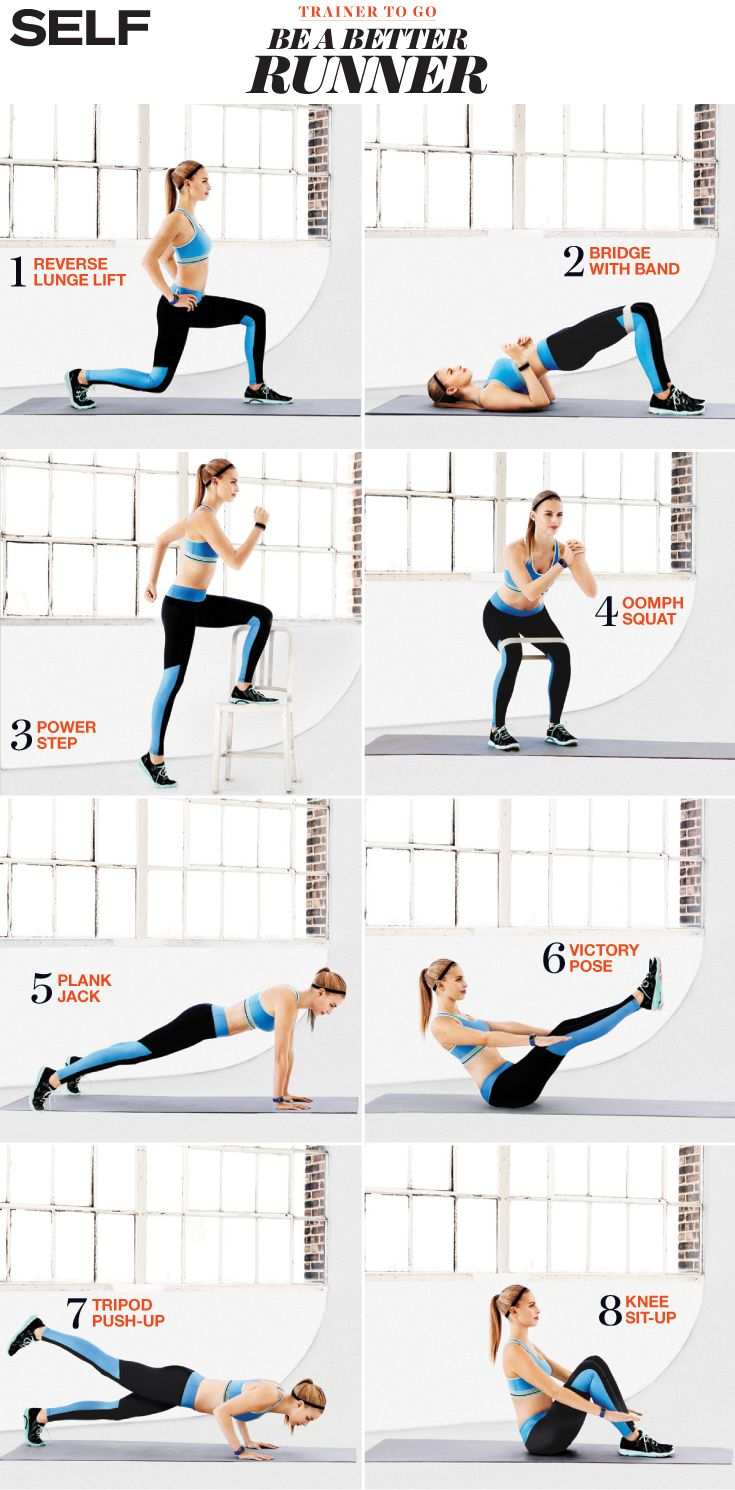 Moves to improve your run.