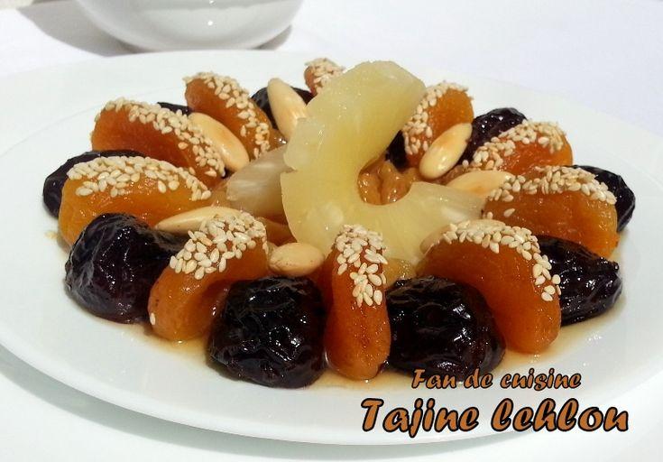 Tajine lahlou (lham lahlou sans viande) - Fan de cuisine