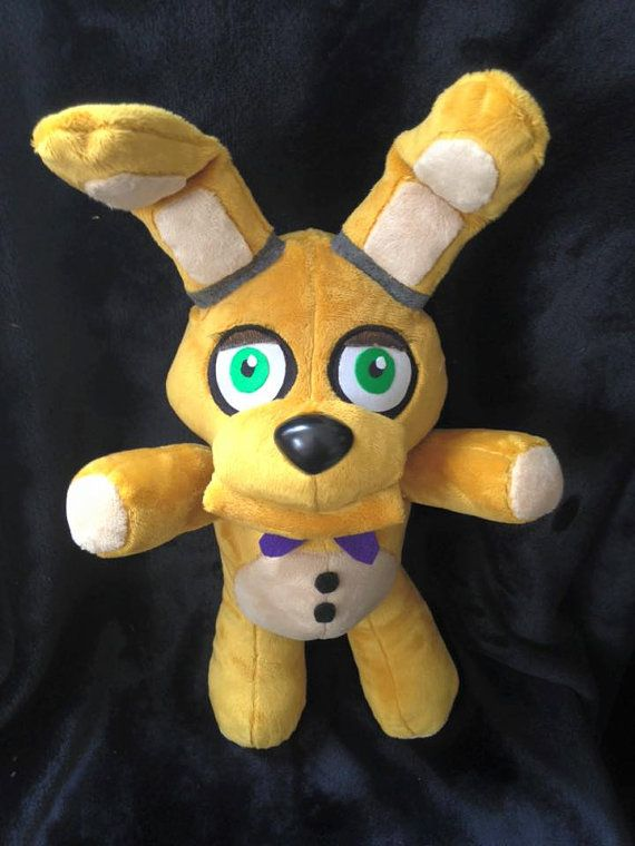 Five Nights at Freddy's 3 Plush Spring Bonnie by NightmarenCrafts