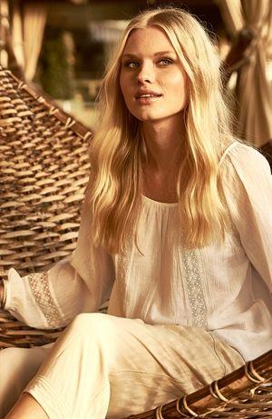 Capri Collection | Juliette pusero, valkoinen | Putiikki Rannalla