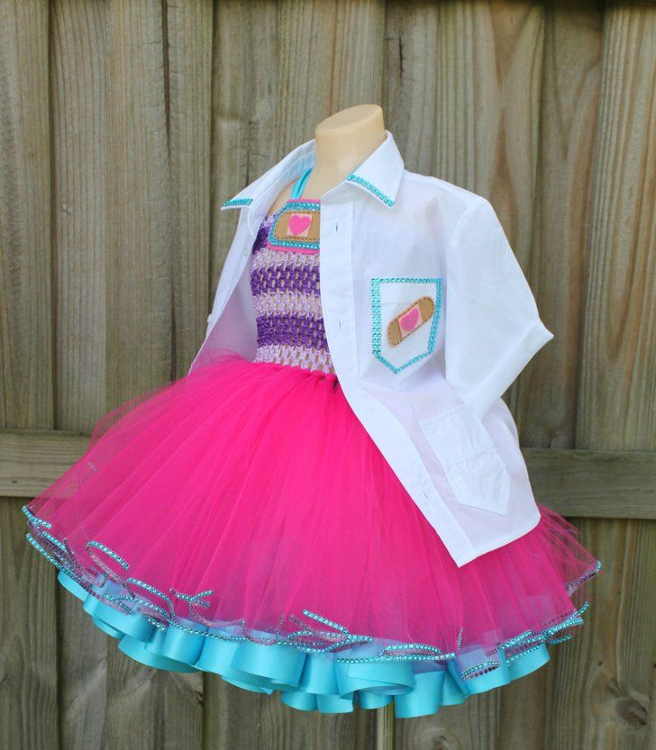 These Are the 65 Ultimate Disney Character Tutu Dresses For Halloween Doc McStuffins Tutu Dress Doc McStuffins Tutu Dress ($75)