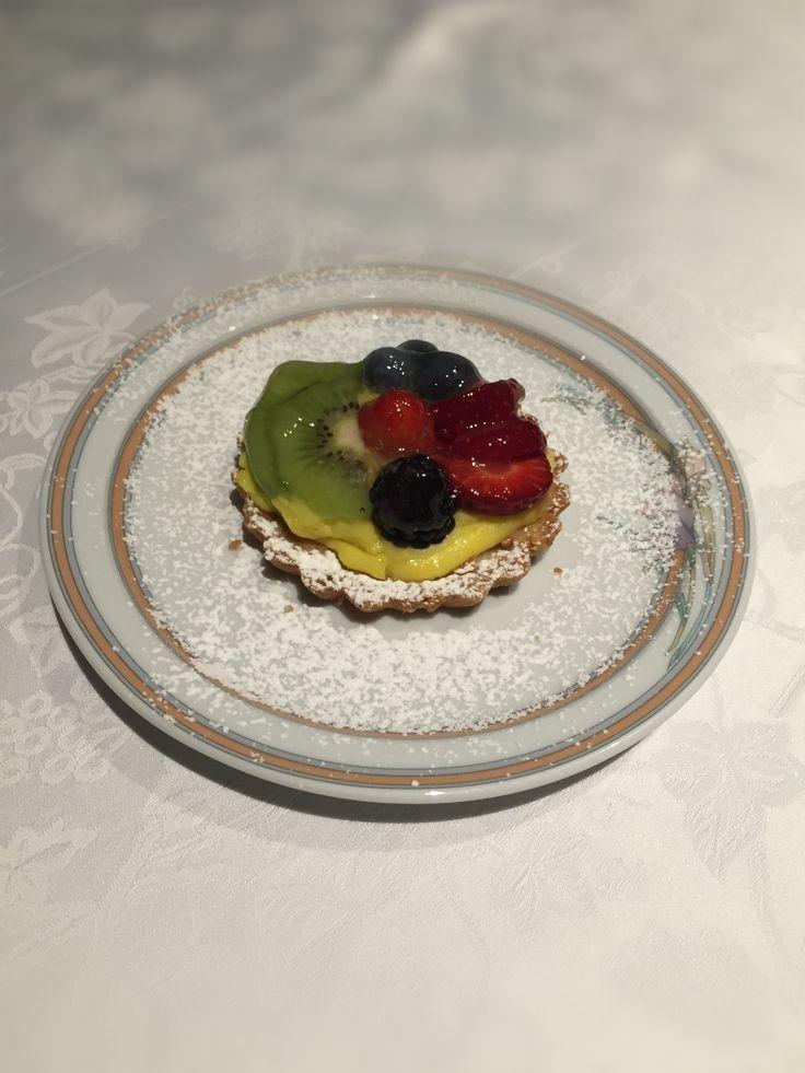 Una crostatina di frutta...