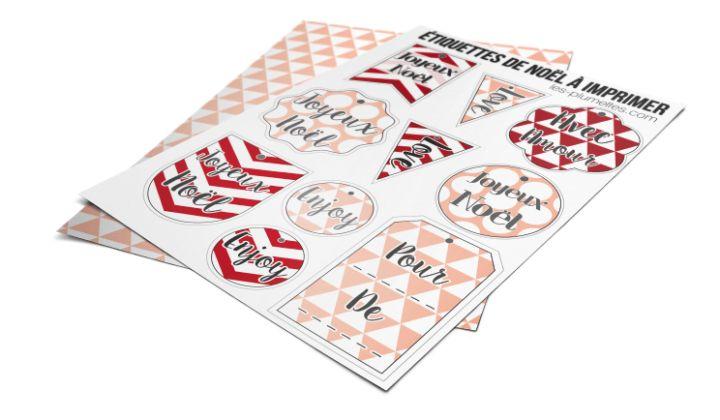 etiquettes-noel-2 Retrouvez pleins d'articles #décoration , #printables #DIY , #Brico et #Lifestyle sur le #webzine des #plumettes : www.les-plumettes.com