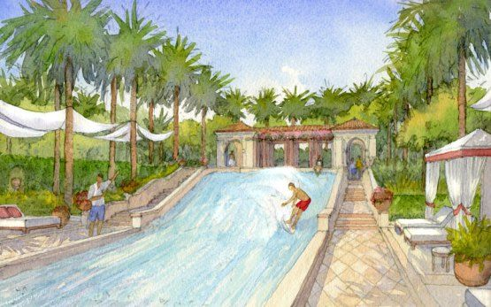 The Estates At Acqualina Residences FlowRider in Sunny Isles Beach. Brosda and Bentley Sales (786) 363-8551 http://brosdaandbentley.com/building/the-estates-at-acqualina-sunny-isles-beach