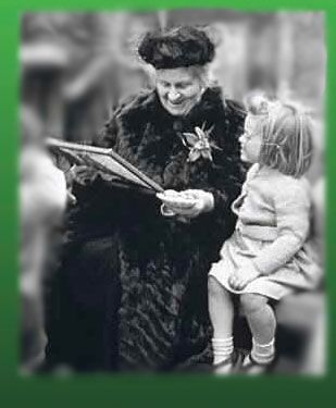 Dr. Maria Montessori dedicated her entire life to educating and developing children, and championing children's rights.