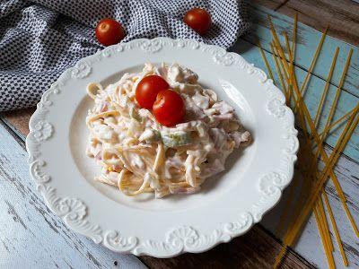 Betti gluténmentes konyhája: Tésztasaláta