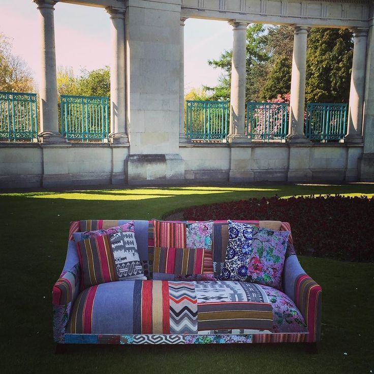 Voilá! The finished article!  #patchwork sofa To buy click on the link in my profile.  For quality #bespoke upholstered #furniture always ask for Ashley!  T: 07908 886999 E: uniquefurnitureuk@hotmail.co.uk  #homedecor #homedesign  #fashion  #uniquefurnitureuk #unique #upholstery #interior #traditional #trimming #hardwood #decor #Interiordesign #craftsman #fabric #Artisan  #tattoo #camper #dub #Derby #Nottingham #LongEaton #THEUPHOLSTERER  We also love #Motorcycles - Racing - #CamperVans…