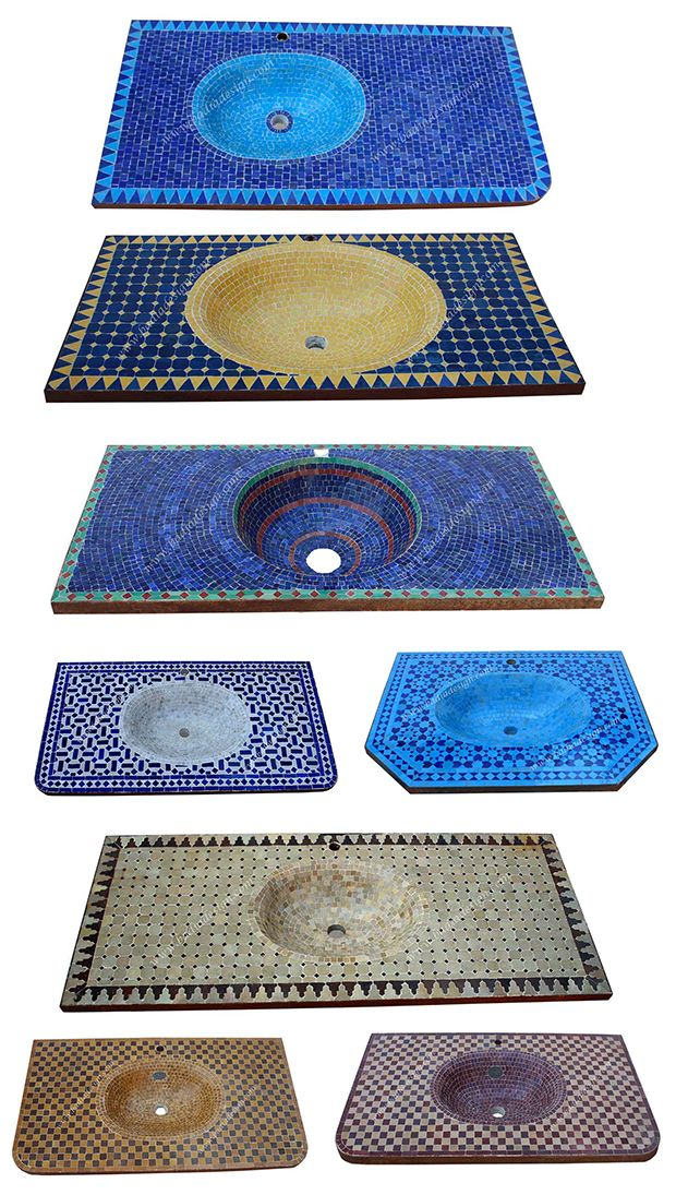 The Jungalow Needs: Tiled Sinks