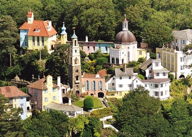Portmerion Village in Gwynedd, North Wales. http://www.buzzfeed.com/hilarywardle/12-places-youd-never-believe-were-in-the-uk-aplm