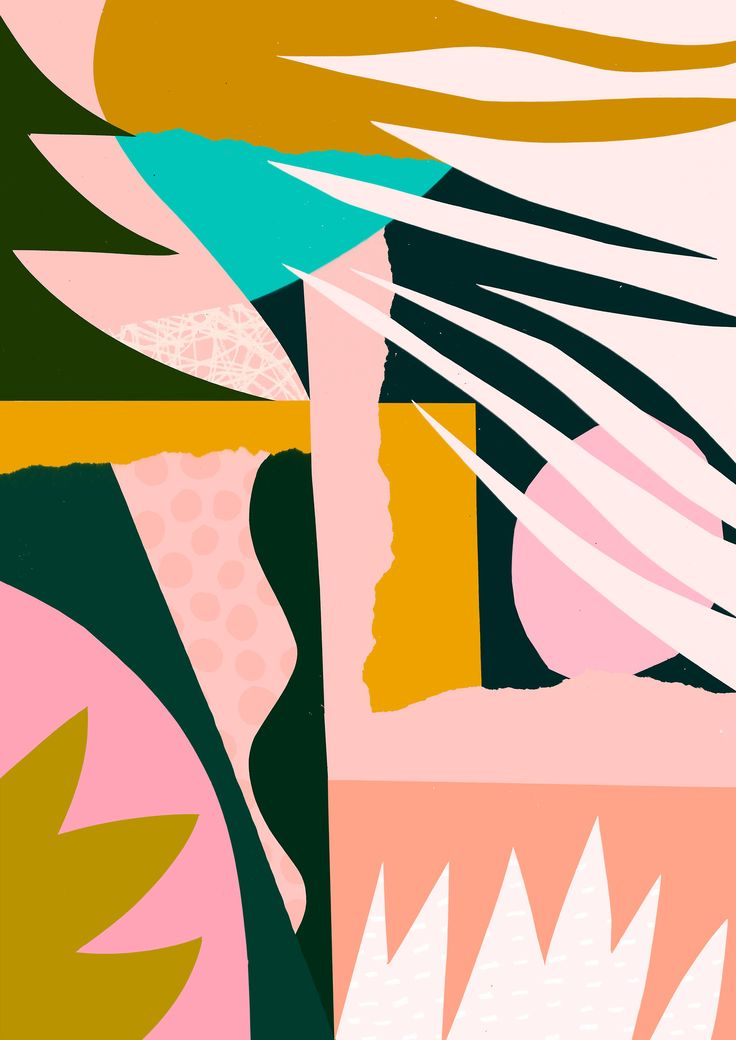 'Ambrosial' - Tom Abbiss Smith, 2017 #contemporary #abstract #collage #pattern #design