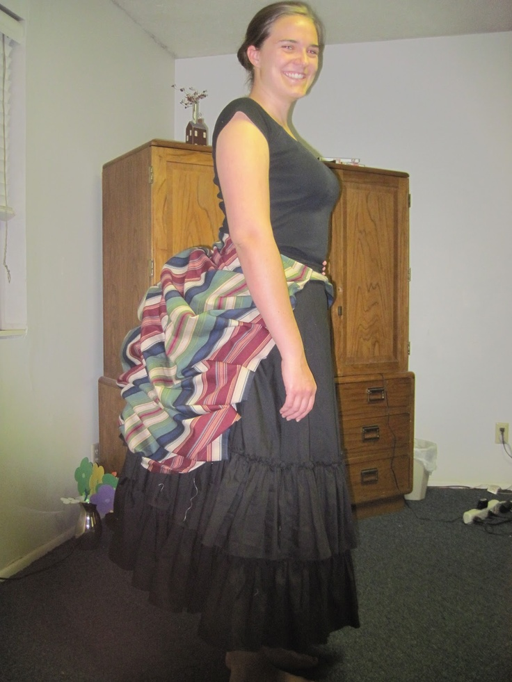 diy crafts ideas 1870 s ish diy detachable bustle look here for a tutorial 1870
