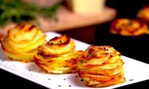Потрясающе вкусный картофель спармезаном итимьяном