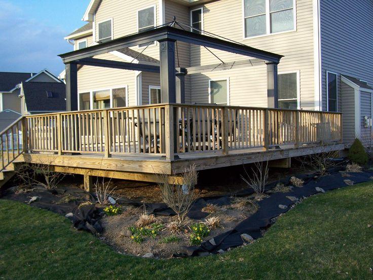 building a deck how to build a deck step by step download deck plans backyard - Backyard Deck Designs