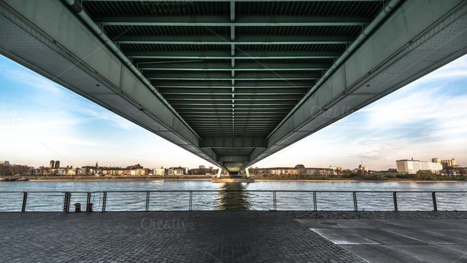 Check out Under the bridge... by Screeny's Photo Bucket on Creative Market