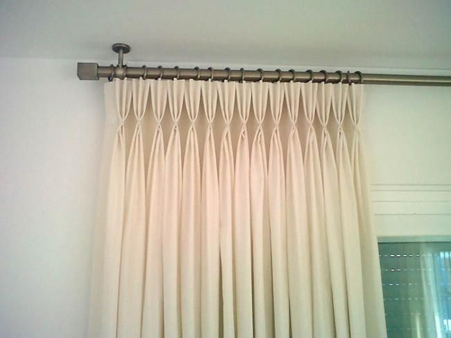 17 best images about cortinas on pinterest patrones - Confeccion de estores ...