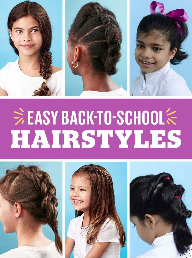 10 Easy Back To School Hairstyles Shell Love Easy Hairstyles