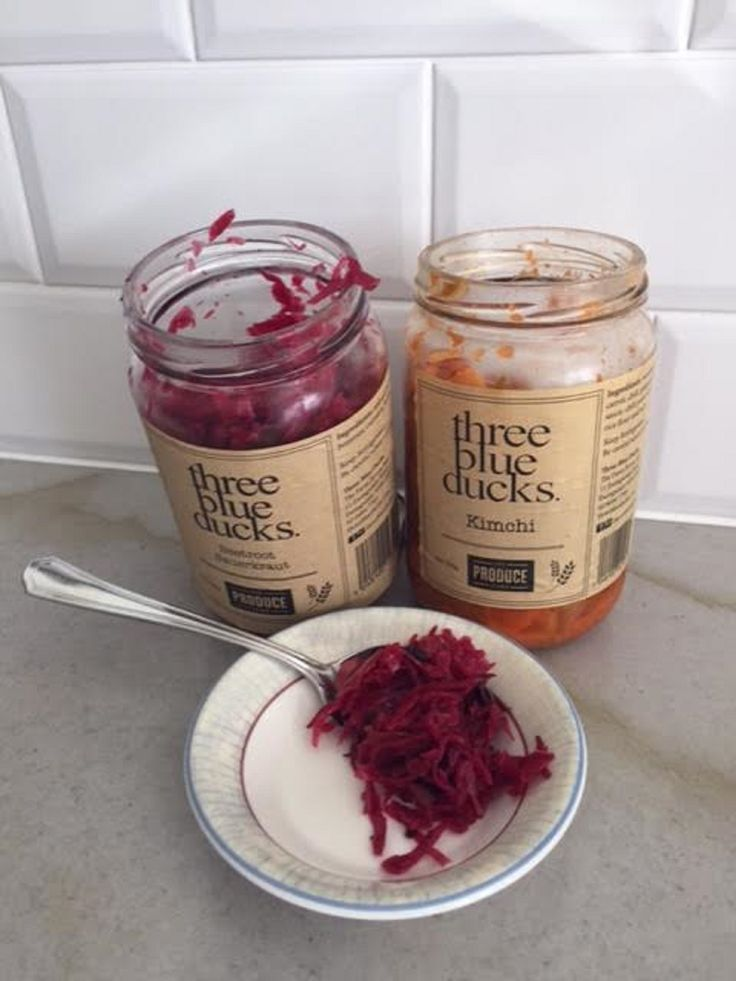 We've been loving Kimchi and Beetroot Sauerkraut. Both wonderful sources of live probiotics. Good gut health can help with certain skin conditions. #goodguthealth #skinhealth #probiotics http://www.mismo.com.au/rosacea-sensitive-skin