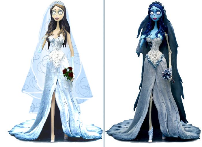 """Photomanipulation: Emily by Rzeznik91 if I ever get married, I'd like to possibly get married in a dress like Emily's from """"Corpse Bride."""" The way it would have looked before she started decomposing, that is. And I'd add sleeves."""