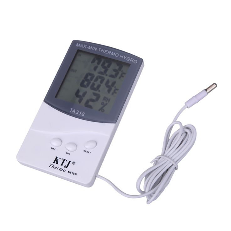 Smart Household LCD Digital Indoor Outdoor Thermometer Hygrometer MAX-MIN THERMO HYGRO Meter With 1.5M Sensor Cable FreeShipping //Price: $5.03 & FREE Shipping //     #RCAirplane