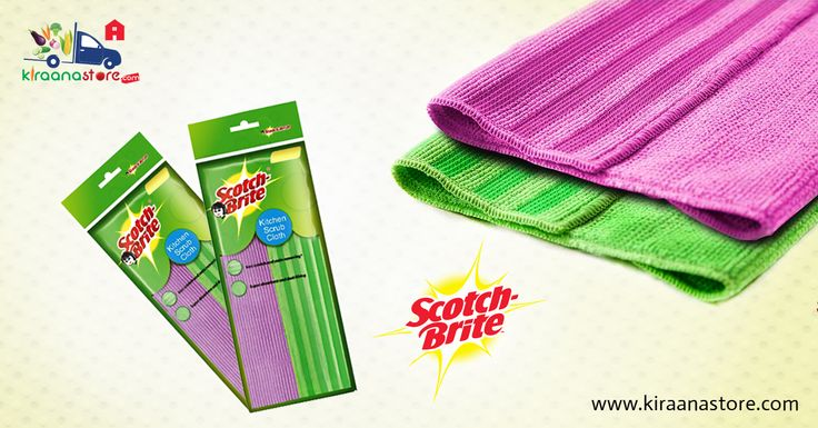 #Scotch #Brite #Kitchen #Scrub #Cloth @ Rs. 149/- Only at Kiraanastore.com. Get Free Shipping & COD Available.