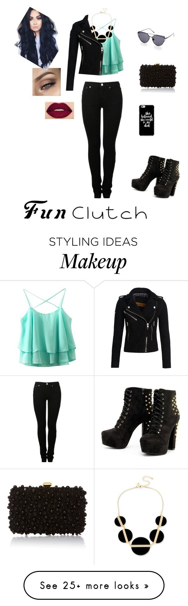 """fun clutch"" by sidney-mcfarland12 on Polyvore featuring Smashbox, Elie Saab, INC International Concepts, Superdry and MM6 Maison Margiela"
