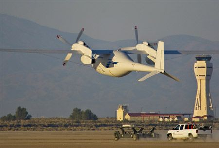 Boeing's Chubby Hydrogen-Powered UAV Makes Its First Flight - IEEE Spectrum.  Launched from a sled, how does this thing land?