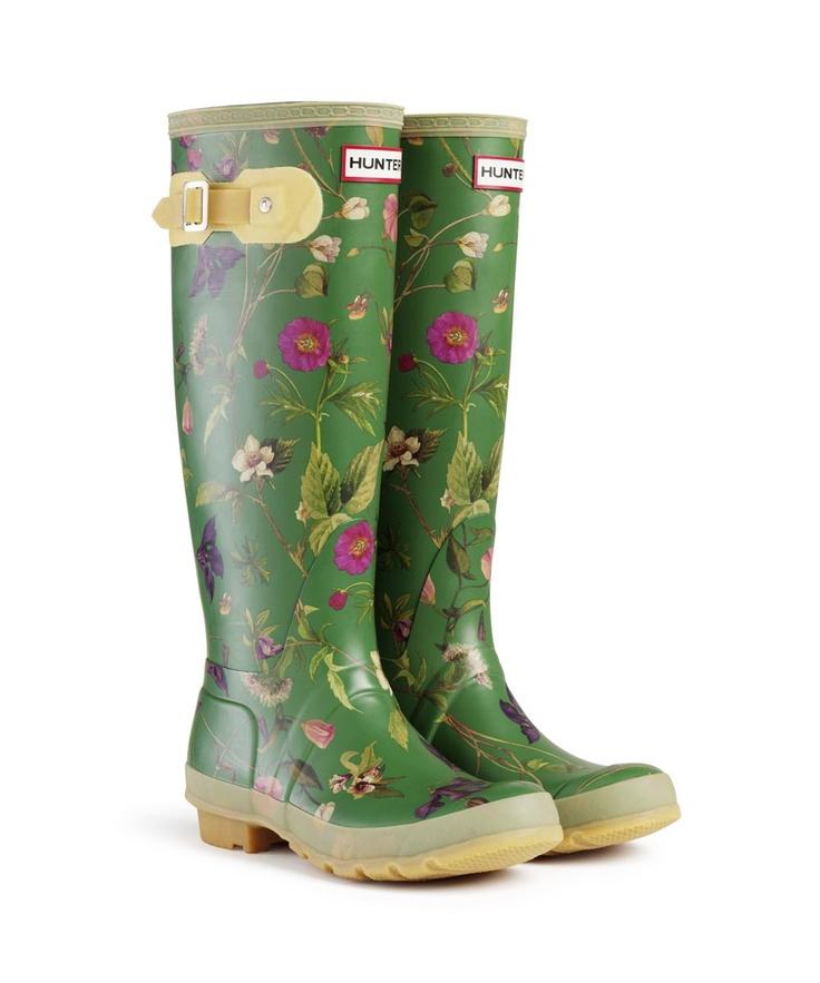 Royal Horticultural Society - Hunter Wellies - Rhs Orginal Tall '11 Wellington Boots - Green