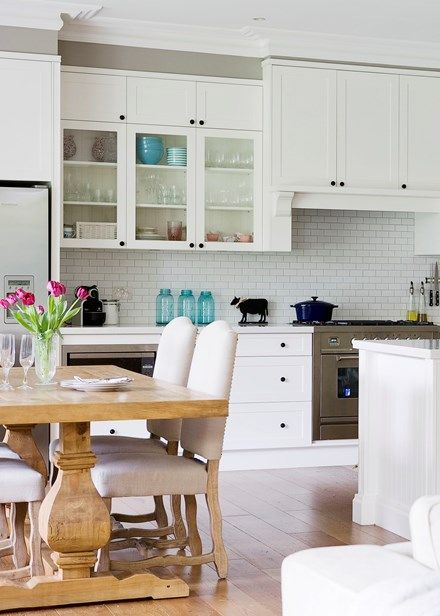 Traditional kitchen with French flavour - Home Beautiful