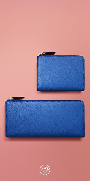 Explore our collection of the classic and the colourful for all your essentials. Discover wallets, pouches, card holders and cosmetics bags designed to suit to your lifestyle at Mulberry.com. Introducing new small leather goods in Mulberry's new Debossed Tree Leather, a smooth coated leather with a unique, iconic raised tree pattern.
