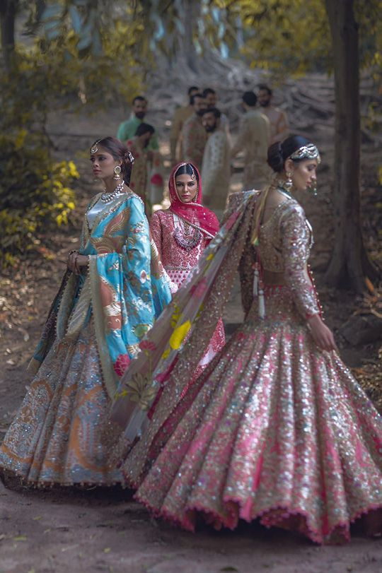 Ali Xeeshan Bridal Campaign, 2016 - High Fashion Pakistan