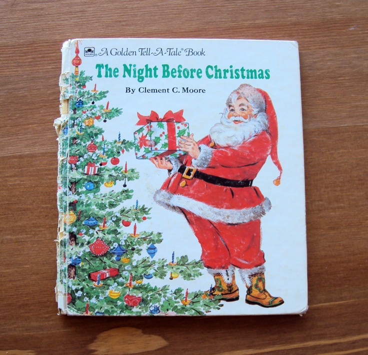 twas the night before christmas hallmark pop up book