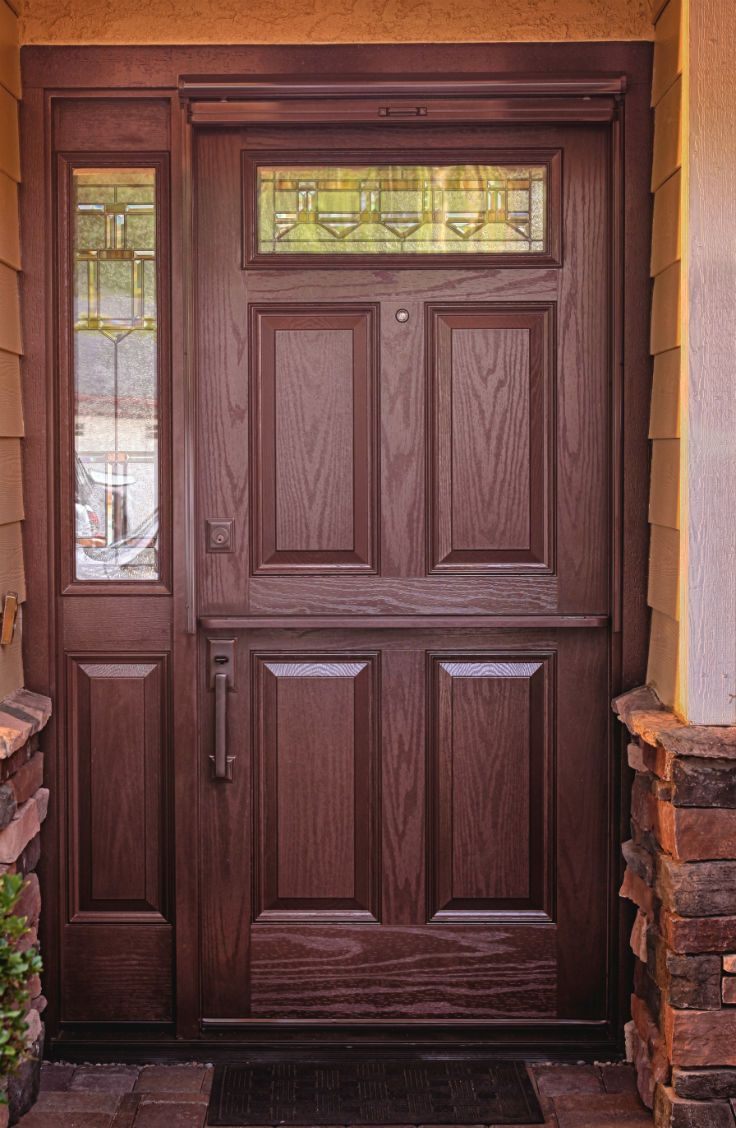 17 best images about dutch doors on pinterest stains - Interior door with pet door installed ...