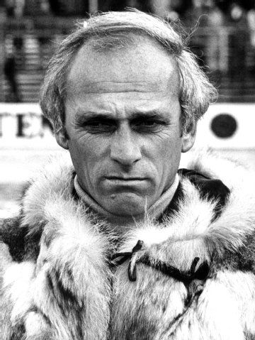 1977: Udo Lattek, damals Trainer in Mönchengladbach, beim Supercupspiel gegen den HSV.