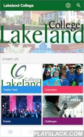 Lakeland College  Android App - playslack.com ,  Lakeland is the official campus app for current Lakeland College students. Access your Lakeland College news, events, calendars, clubs, social media, maps and more. Stay organized with your classes and assignments through the timetable. Connect with the campus community through the campus feed.Features to help you with your student life + Classes - Manage your classes, create to-dos & reminders, and stay on top of assignments. + Study…