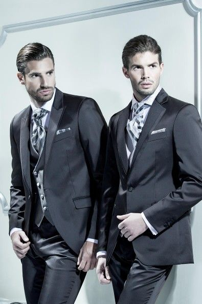 Shiny Satin Suit