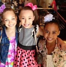 Maddie Ziegler, Sophia Lucia, and Asia Monet Ray, I think a trio with theese three would be flawless <3 especailly if it was jazz, similar to tongue twister paiges solo