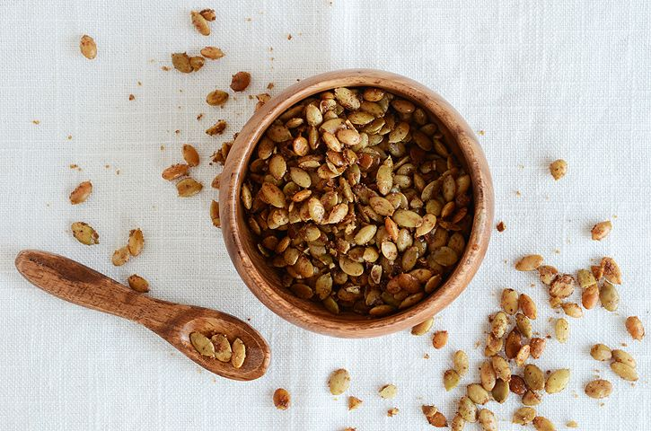 sweet spiced pumpkin seeds | Eat like a BEAST | Pinterest | Seeds ...
