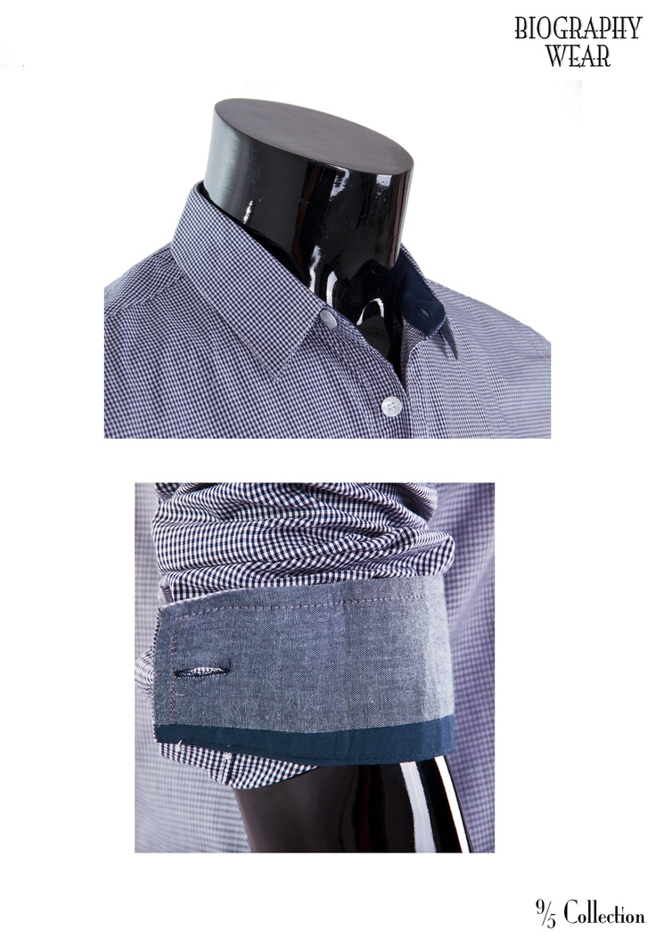 New* Fitted/Checkered Button Down Details