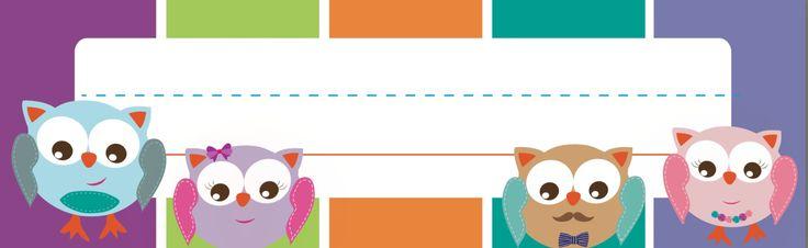 """Los """"personalizadores""""  son una herramienta multiusos para organizar el aula, de una manera divertida creando un ambiente acogedor . Personaliza la mesa, la silla, o los cubículos de los estudiantes.  Organiza tu salón de clases y etiqueta el material, cajas, carpetas, o cualquier espacio que necesites identificar. Los """"personalizadores""""  también te sirven para crear espacios de aprendizaje como anotar las palabras de la semana, números o vocales."""