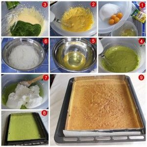 ıspanaklı kek tarifi