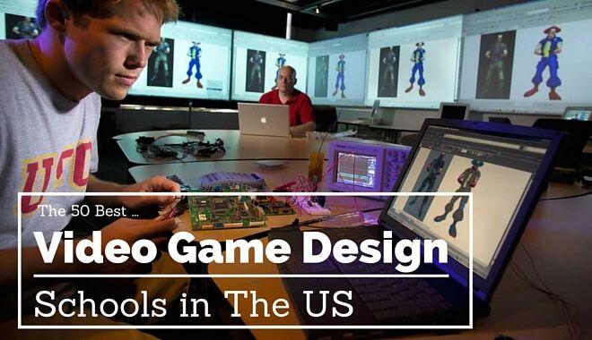 50 best game design schools